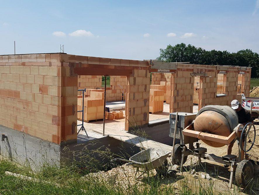 Construction Montpont en Bresse