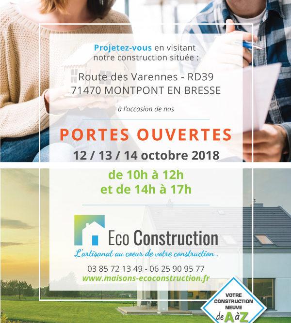 Portes ouvertes Eco Construction